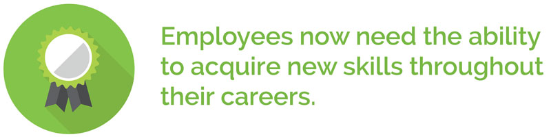 employees need new skills