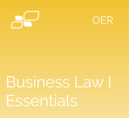 Business Law Essentials I