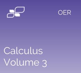 Calculus Vol. 3