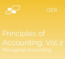 Principles of Accounting: Volume 2